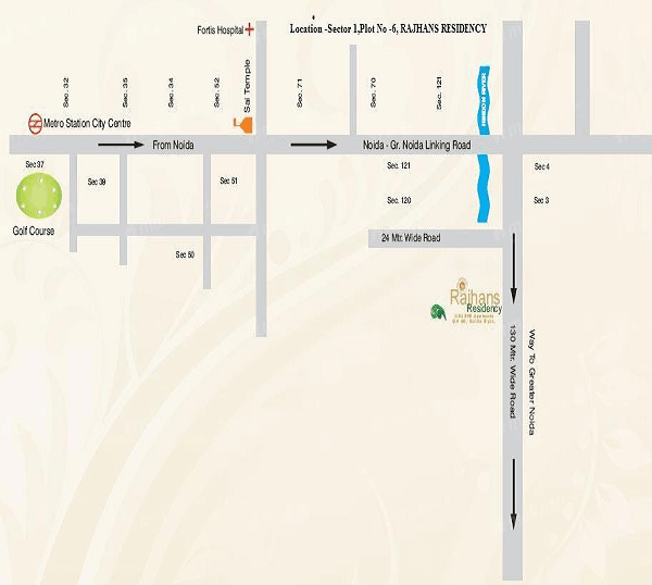 rajhans residency location map , rajhans residency