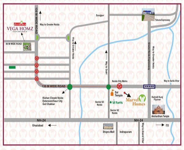 shridhara vega homz location map , shridhara vega homz