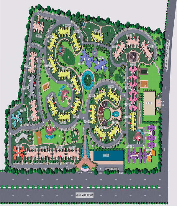 supertech king towers site plan , supertech king towers