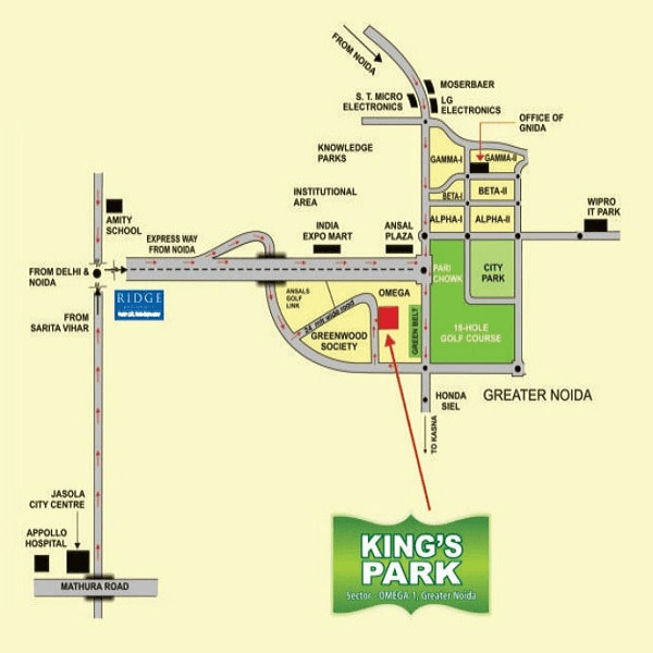 today kings park location map , today kings park