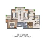 Jan Ghar Awas Yojna floor plan3
