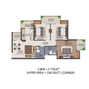 Jan Ghar Awas Yojna floor plan4