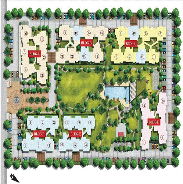 aarcity moon towers site plan , aarcity moon towers