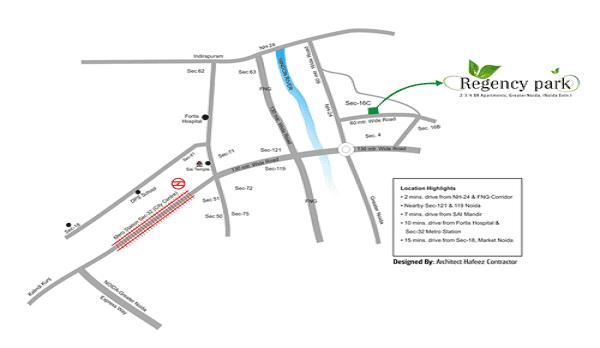 aarcity regency park location map , aarcity regency park