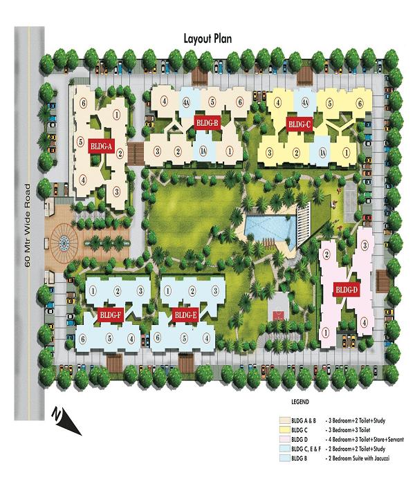 aarcity regency park site plan , aarcity regency park