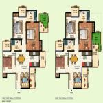 amrapali courtyard floor plan , amrapali courtyard