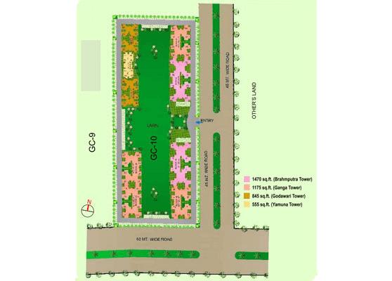 gaur city 10th avenue site plan , gaur city 10th avenue