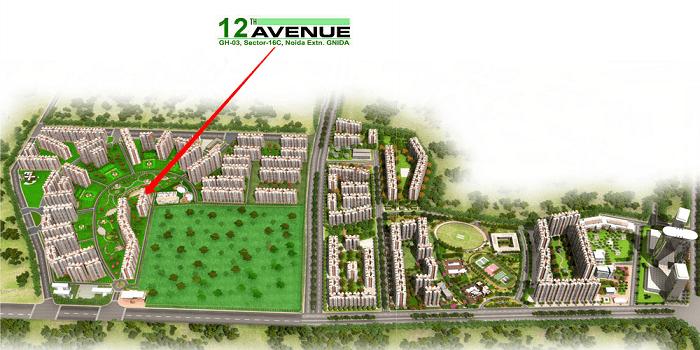 gaur city 12th avenue image