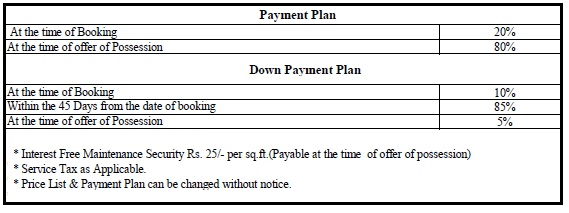 gaur city 12th avenue payment plan , gaur city 12th avenue