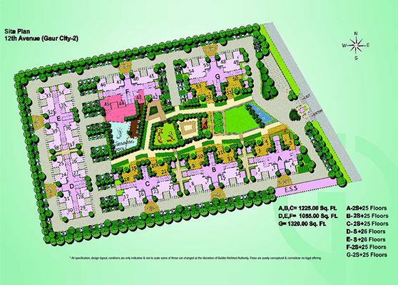 gaur city 12th avenue site plan , gaur city 12th avenue