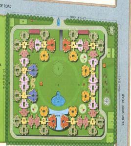 gayatri aura site plan , gayatri aura