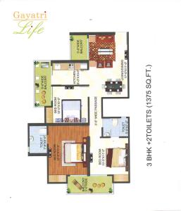 gayatri life floor plan , gayatri life