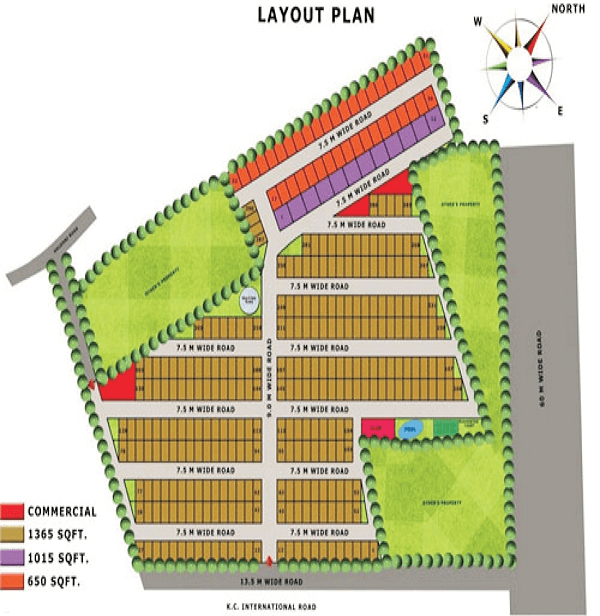 lotus villas site plan , lotus villas