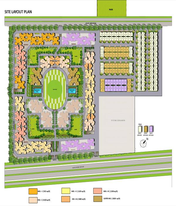 panchsheel greens2 site plan ,panchsheel greens2