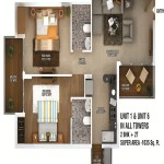 ratan pearls floor plan 2bhk 2toilet 1035 sq.ft