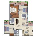 supertech echo village4 floor plan , supertech echo village4