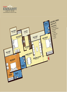 trident embassy floor plan -