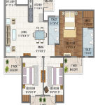 vaibhav heritage heights floor plan , vaibhav heritage heights