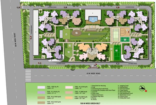 vaibhav heritage heights site plan , vaibhav heritage heights