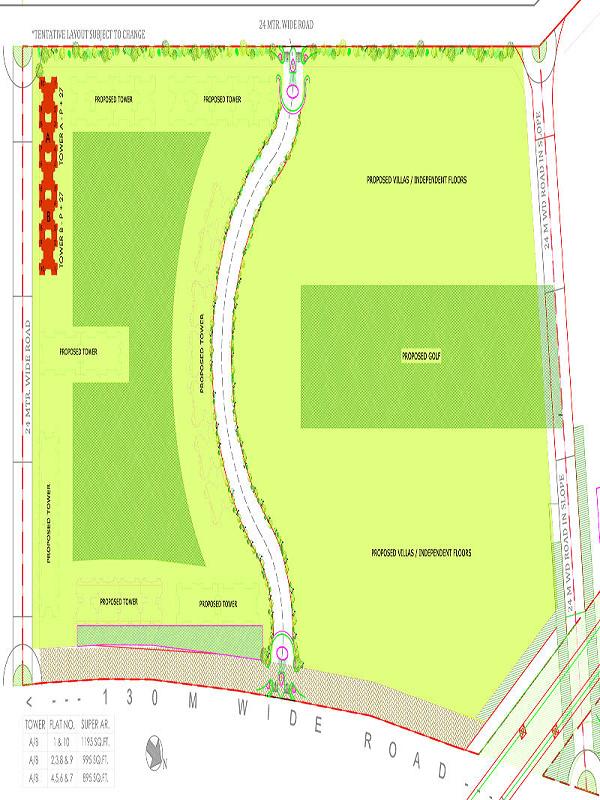 ajnara sports city site plan , ajnara sports city