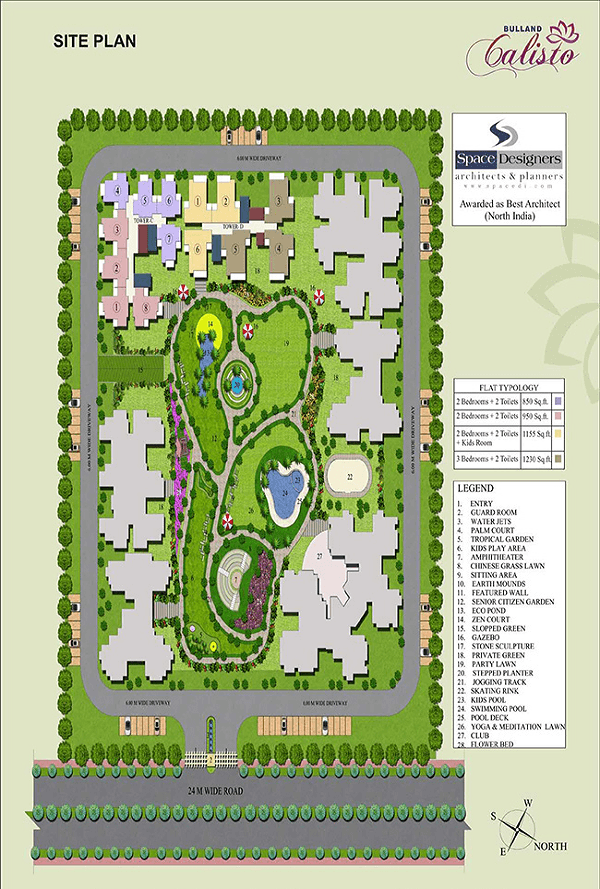 bulland calisto site plan , bulland calisto