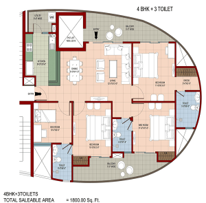 organic-golf-homes-floor-plan-4bhk-3toilet-1800-sq-ft