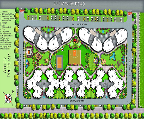 organic-golf-homes-site-plan
