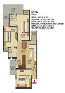 ska-greenarch-floor-plan-3bhk-2toilet-1220-sq-ft