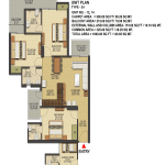 ska-greenarch-floor-plan-3bhk-3toilet-1600-sq-ft