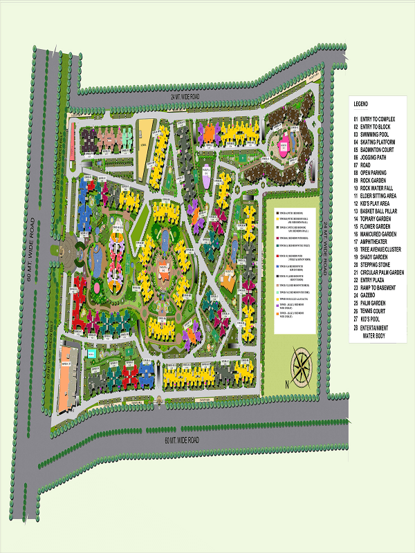 supertech-regina-towers-site-plan