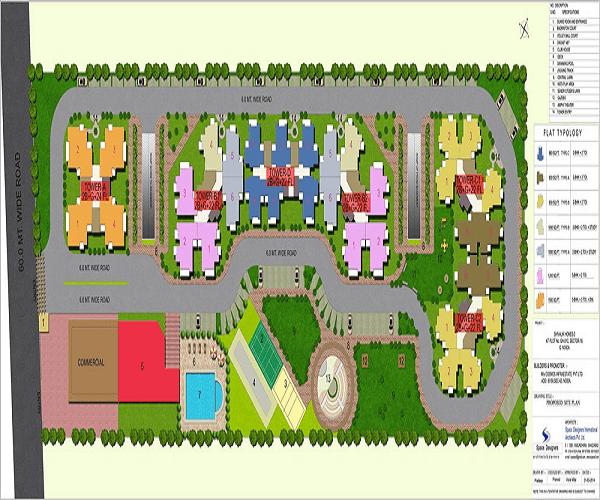 cosmos-shivalik-homes2-site-plan