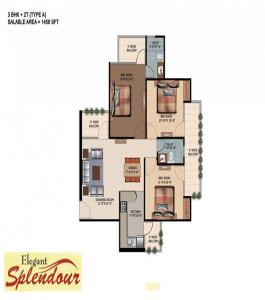 elegant-splendour-floor-plan-3bhk-2toilet-1458-sq-ft