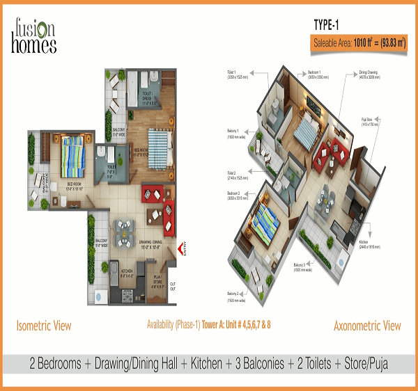 fusion-home-floor-plan-2bhk-2toilet-1010-sq-ft