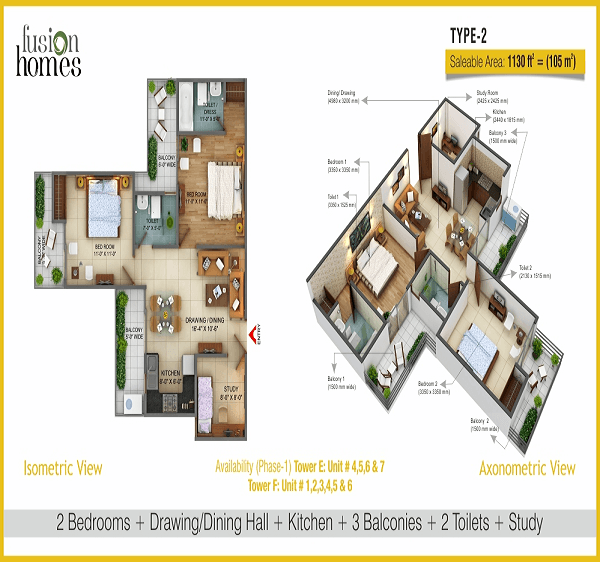 fusion-home-floor-plan-2bhk-2toilet-1130-sq-ft