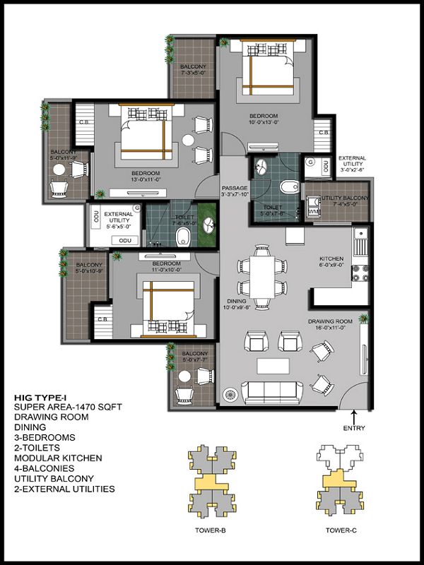 hawelia-valenova-park-floor-plan-3bhk-2toilet-1470-sq-ft