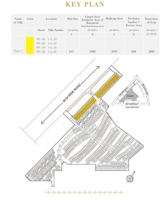 rise-resort-residences-floor-plan-key-plan-one