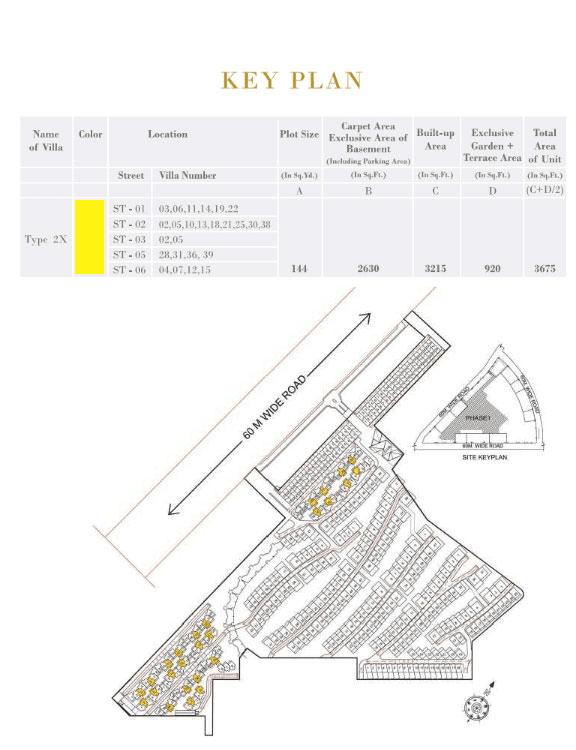 rise-resort-residences-floor-plan-key-plan-six