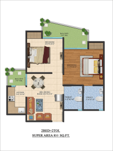 ajnara-le-garden-floor-plan-2bhk-2toilet-810-sq-ft