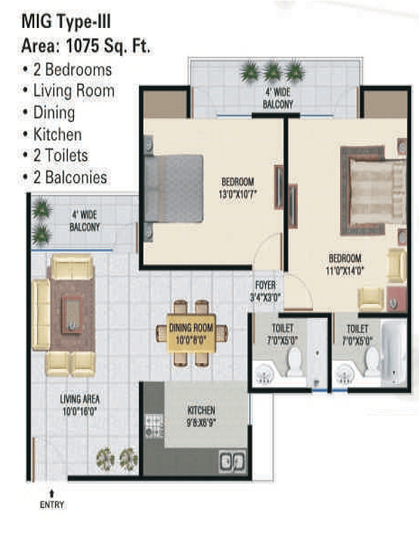 panchsheel-green1-floor-plan-2bhk-2toilet-1075-sq-ft