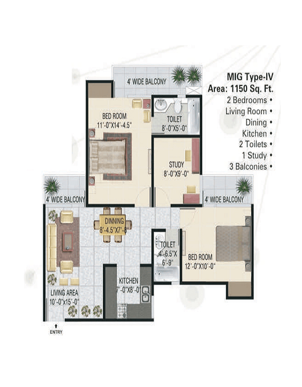 panchsheel-green1-floor-plan-2bhk-2toilet-1150-sq-ft