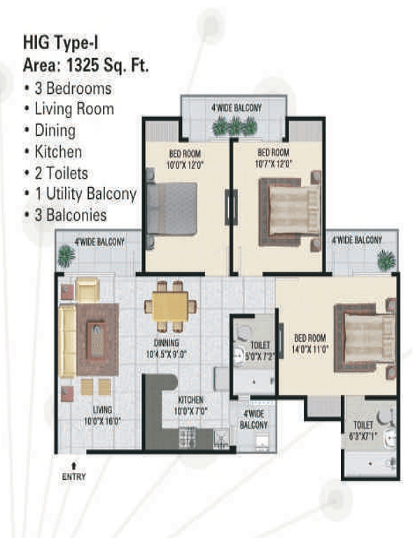 panchsheel-green1-floor-plan-3bhk-2toilet-1325-sq-ft