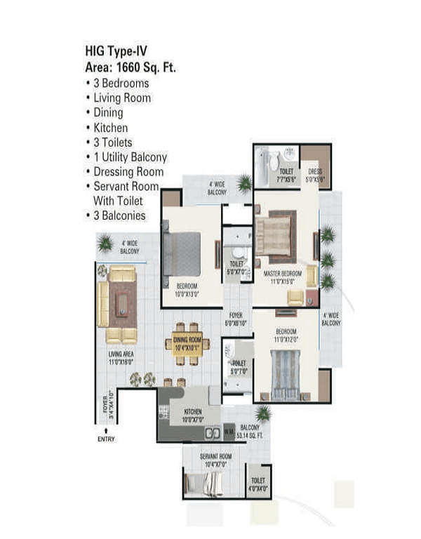 panchsheel-green1-floor-plan-3bhk-3toilet-1660-sq-ft