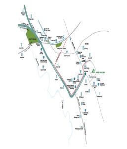 godrej golf links location map