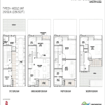 godrej golf links middle unit floor plan 2359 sq.ft