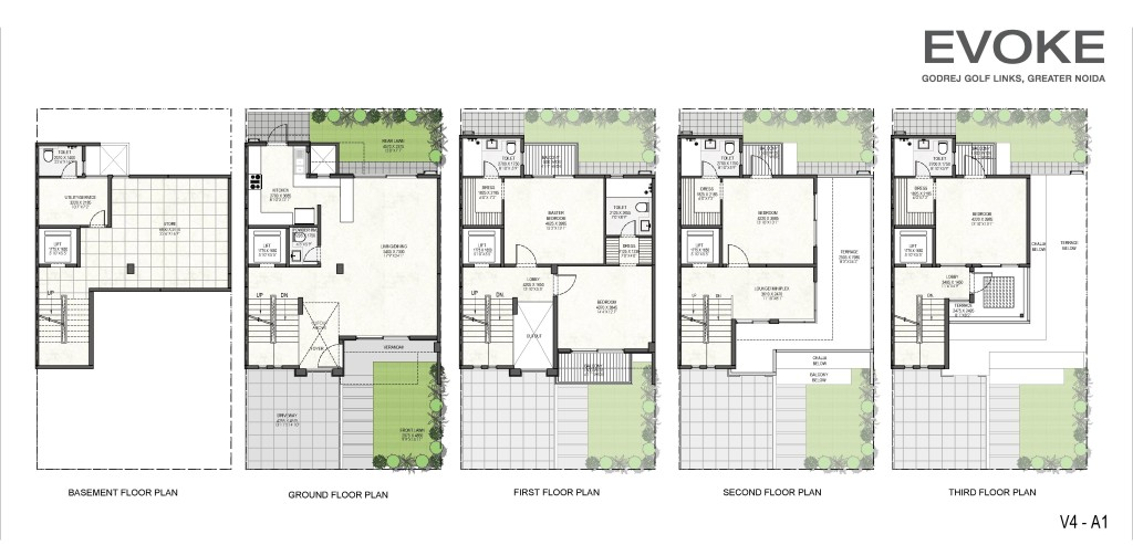 Godrej Villas Floor Plan