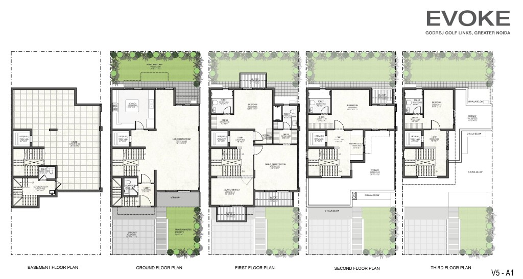 Godrej Villas Floor Plan2