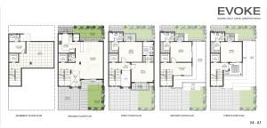 Godrej Villas Floor Plan