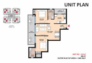 Saha Eminence floor plan1