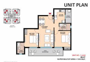 Saha Eminence floor plan2