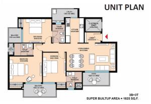 Saha Eminence floor plan3